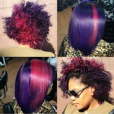 Love the pink and purple!