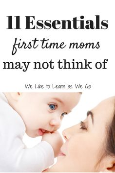 Are you going to be a new mom or know someone who is? Here are some essentials that you need that you may not have thought of from a veteran mom.   www.weliketolearnaswego.com