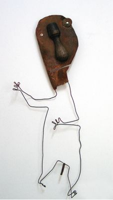 Christian Voltz #art #sculpture #assemblage #found