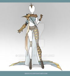 (CLOSED) Adoptable Outfit Auction 39 by Risoluce on DeviantArt