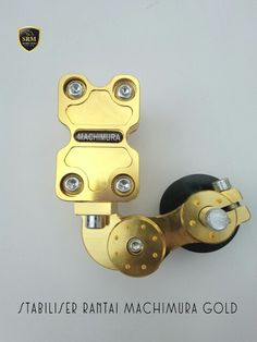 Stabiliser Rantai Machimura Gold IDR 100.000,-/Pcs