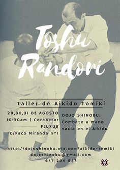 BUDOKAN blog de artes marciales : Taller de Aikido Tomiki en Málaga