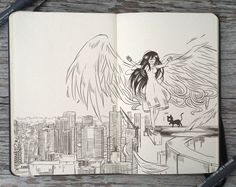 #92 On top of the world by 365-DaysOfDoodles on DeviantArt