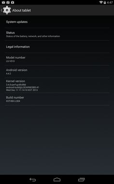 Receiving LG G Pad 8.3 Google Play Edition OTA Update to Android 4.4.2/KOT49H [Download] - IT Rumors