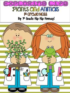 In this packet your class will take explore and experiment with plant and animal…