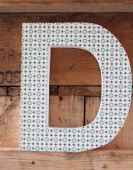 Houten letters - BubbleCross