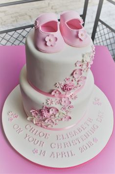 f3684789 18 Best Christening Cake Toppers images   Cookies, Fondant cakes ...