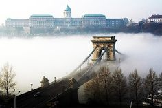 Stunning image of Budapest Lance His (Chain Bridge) Beautiful Places In The World, Most Beautiful Cities, Capital Of Hungary, Budapest Travel, Heart Of Europe, Dubai Skyscraper, Central Europe, Budapest Hungary, World Of Color