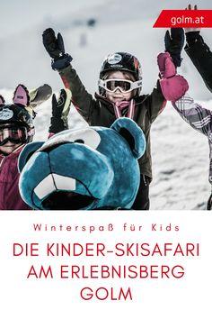 Unsere kleinen Gäste erwartet jeden Donnerstag ein besonders abenteuerliches Erlebnis: Die Kinder-Skisafari am Erlebnisberg Golm! Bei der Kinder-Skisafari erleben die Kinder einen Tag voller Abenteuer. Begonnen wird mit einer Tiefschneeabfahrt, weiter geht es mit spannenden Geschichten und interessanten Rätseln. Abgeschlossen wird der Tag mit einer Grillparty im verschneiten Wald. Da wäre man gerne noch einmal Kind! #golmat Safari, Fur, Kids, Movies, Movie Posters, Winter Vacations, Grill Party, Day Trips, Thursday