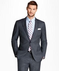 Candid Jos A Banks 100% Wool Dark Gray 2-button Executive Collection Blazer Men's Clothing Coats & Jackets