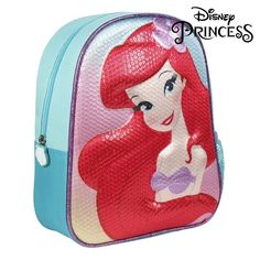 Children deserve the best, that's why we present to you Child bag Princesses Disney ideal for those who seek quality products for their little ones! Get Princesses Disney at the best prices!Material: 67 % % EVAColour: S. School Bags For Kids, Kids Bags, Girl Backpacks, School Backpacks, Mochila Skip Hop, Mermaid Princess, Disney Princess, Dc Super Hero Girls, Small Backpack