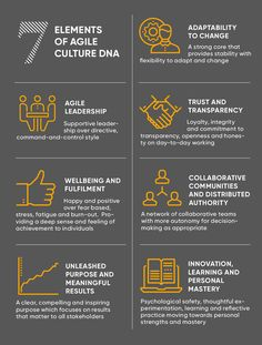 7 Elements of Agile Culture - from the Agile Business Consortium