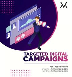 For successful online conversions, you want to reach the right demographics through well-directed marketing campaigns📱 Direct Marketing, Digital Marketing Services, Digital Campaign, Success, Ads
