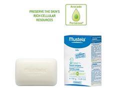 Mustela Gentle Soap with Cold Crean. #Mustela #BabyCare