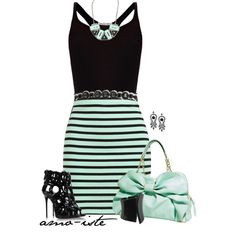Minty, created by amo-iste on Polyvore