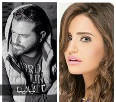 selfie يوسف الخال وإيميه الصياح..  @layalina