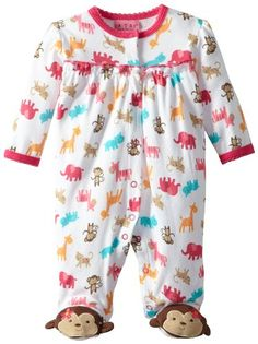 Carter\'s Watch the Wear Baby-Girls Newborn Sweet Monkeys Coverall, Pink, 0-3 Months Carter\'s Watch the Wear,http://www.amazon.com/dp/B00CH0ZQIC/ref=cm_sw_r_pi_dp_7olhsb16DECPH5FP