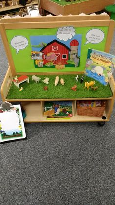 Story focus table, environmental sound's. Phonics phase 1