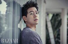 Lee sang yoon in harper's bazaar korea look 1 Lee Sang Yoon, Lee Sung, Diet Motivation Funny, Hallyu Star, Thing 1, Angel Eyes, Asian Boys, Asian Men, Harpers Bazaar