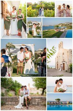 Seaside wedding in Chania; destination wedding in Crete; getting married in Greece Seaside Wedding, Destination Wedding, Crete, Getting Married, Real Weddings, Wedding Planner, Image, Wedding Planer, Destination Weddings