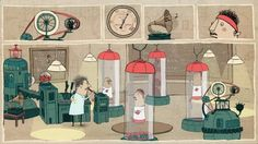 Physics - Short animation, which was part of the Science Club series on BBC2 hosted by Dara O Briain,