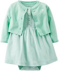 Carter's Baby Girls' 2 Piece Dress Set (Baby) - Mint - 6 Months Carter's http://www.amazon.com/dp/B00K8LWK4U/ref=cm_sw_r_pi_dp_oPJdvb167XRB2