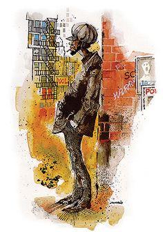Mario Miranda - Man at the Corner @ Mario Miranda, Limited Editions | StoryLTD