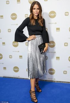 Jodi Anasta at the Network Ten Upfront party