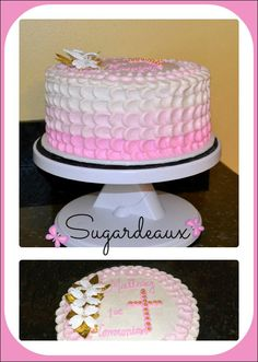 Ombre Petal Cake | Flickr - Photo Sharing!