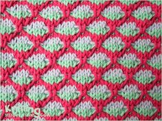 Counterpoint Quilting  |  Multi color Slip Stitch Pattern
