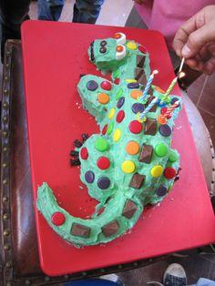 Sheena's dragon cake