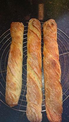 Baguette Parisienne, ein schmackhaftes Rezept aus der Kategorie Brot und Brötchen. Bewertungen: 274. Durchschnitt: Ø 4,6.