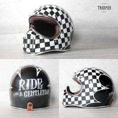 caferacerpasion.com Trooper helmet [TAGS] #caferacerpasion #helmets