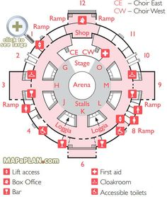 Full capacity eric clapton block stage layout royal albert for Door 12 royal albert hall