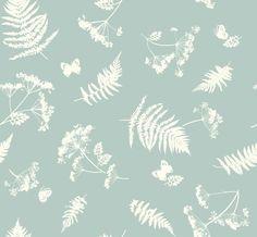 Dotty Brown - Moorland Aqua Cotton, £9.99 / m