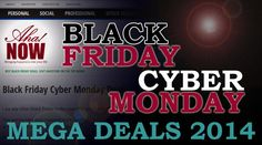 The best Black Friday and Cyber Monday deals on the blogosphere are available on Aha!NOW Life blog. Take a look at the special deals with discounted rates.