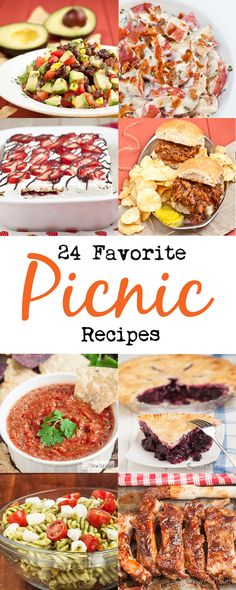 Easy, make-ahead recipes that are perfect for picnics. Make the most out of summer. #summer #easy #recipes