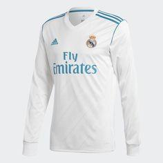 Camiseta Local 2017 - 2018 . Los títulos europeos del Real Madrid se  ganaron con un juego veloz y lleno de estilo. Experimenta lo que se siente  jugar en el ... 4fad6438ccbd1