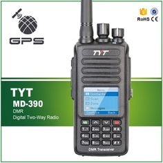 Discount! US $144.66  GPS TYT MD-390 DMR UHF 400-480MHZ IP67 Waterproof 1000CH Analog Digital Combined Walkie Talkie with Earphone Pro Cable  #MD-- #----MHZ #Waterproof #--CH #Analog #Digital #Combined #Walkie #Talkie #with #Earphone #Cable
