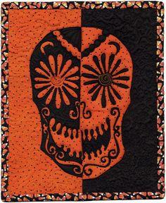 Sugar Skull quilt by