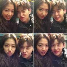 Lee Jong-Suk & Park Shin-Hye in ' Pinocchio ', this picture really brings out the feelings of myself wanting them to stay together FOREVER. Jung Yong Hwa, Jung Suk, Lee Jung, The Heirs, Asian Actors, Korean Actors, Korean Dramas, Korean Idols, Lee Min Ho