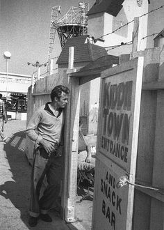 James Dean photographed by Sanford Roth, 1955.
