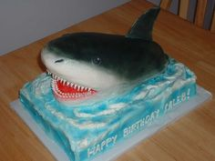 Shark Cake Pictures