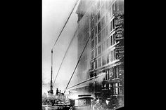 """The fire was tragic, in part, because the workers jumped. The link is an interview a firefighter, Frank Rubino, who said """"Those bodies were coming down with the force of 1 1/2 tons... They were coming down with hair and clothes burning... the bodies lay there on the sidewalk three or four high, burning, and we had to play the hoses on them."""" The sight of this would've been a catalyst for the labor movement. People below saw this happening and petitioned for changes to their own workplace."""