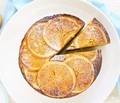 Flourless Orange and Almond Cake Recipe Flourless Orange Cake, Flourless Cake, Flourless Chocolate, Chocolate Cakes, Whole Food Recipes, Cake Recipes, Dessert Recipes, Desserts, Sweet Recipes