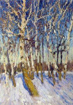 Igor Grabar - Winter, 1904