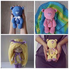 Мишкозайцы в наличии #nk_knitting #вналичии  #всесвязано #вяжутнетолькобабушки #вязанаякукла #хендмейд #амигуруми #амигурумикукла #hobby #handmade #handwork #handmadedoll #happycrochet #crochet #crocheting #bear #crochetbear #crochetlove #instacrochet #amigurumi #amigurumis #amigurumidoll #amigurumicrochet #weamiguru #instaknit #i_loveknitting #knitting #knitstagram #knittersofinstagram #knitting_inspiration by nadezhdakizhaeva