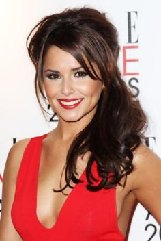Long Half Up Down Hairstyles With Side Swept Bangs For Wedding