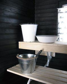 musta, valkoinen, puu, sauna / black, white, wood, sauna