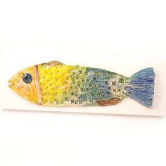 Fish ceramic wall art, Ceramic fish, Fish art , Fish home decor, Colorful fish